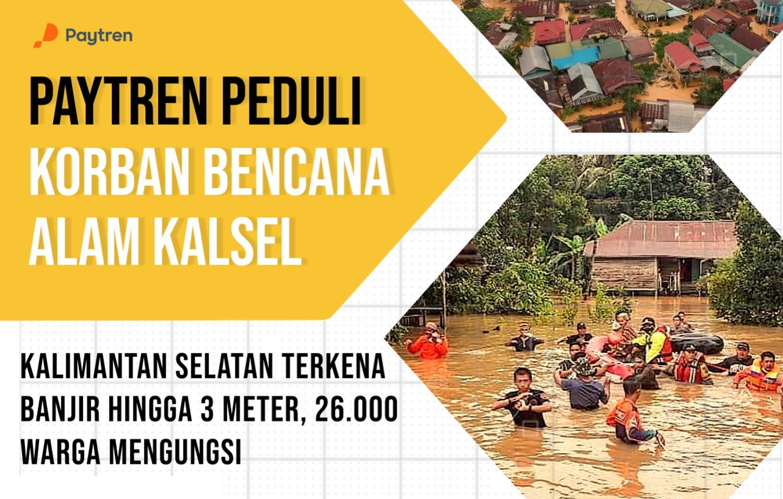 paytren peduli bencana banjir